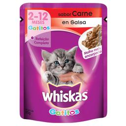 Whiskas pouches gatito 85 gr
