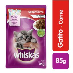 Whiskas pouches gatito 85 gr