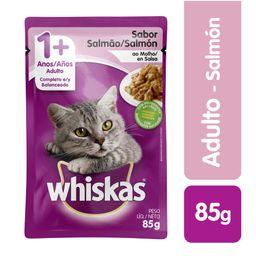 Whiskas pouches salmon 85 gr