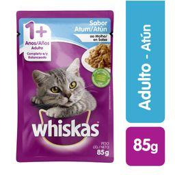 Whiskas pouches atun en salsa 85 gr