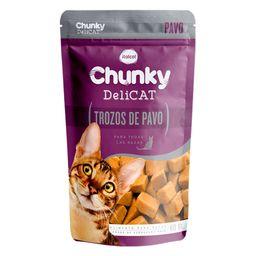 Chunky pouches delicat trozos de pavo 80 gr