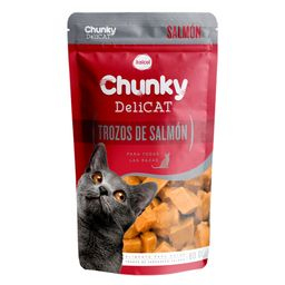 Chunky pouches delicat trozos de salmon 80 gr