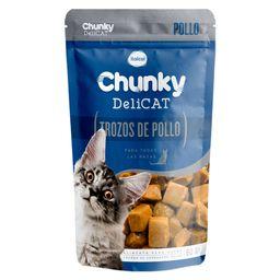 Chunky pouches delicat trozos de pollo 80 gr
