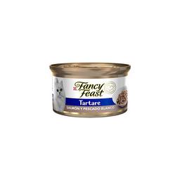 Fancy feast tartare salmon y pescado 85 gr