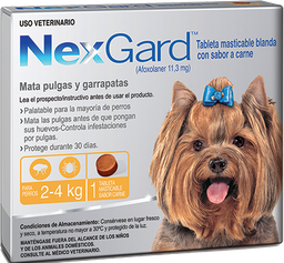 NEXGARD Dog S  1 CHEWAB X 10 (2-4kg)