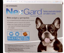 Nexgard m 28.3 mg - (de 4 a 10 kg)