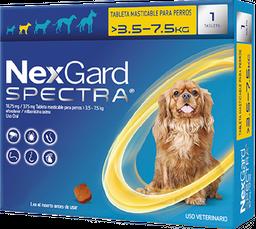 NEXGARD SPECTRA S 1 CHEWAB X 10 (3.5-7.5kg)