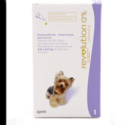 Revolution morado perro (de 2.6 a 5.0 kg)