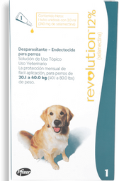 Revolution verde perro (de 20 a 40 kg)