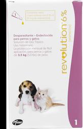 Revolution rosado perro y gato (hasta 2.5 kg)