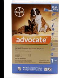 Advocate perros pipeta 4 ml (25 y mas kg)