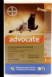 Advocate gatos pipeta 0.4 ml