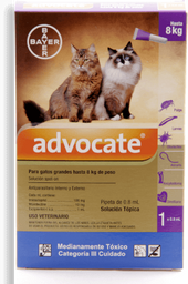 Advocate gatos pipeta 0.8 ml