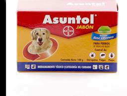 Jabon insecticida asuntol 100 gr + jabonera