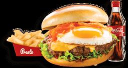 🍔 Combo Hamburguesa Criolla 🍟