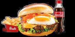 Combo Hamburguesa Criolla