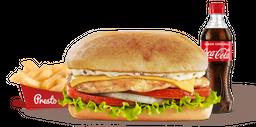 Combo Sándwich de Pechuga de Pollo con Queso
