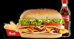🥪 Combo Sándwich de Pernil de Cerdo🐽