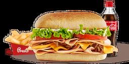 Combo Sándwich de Pernil de Cerdo