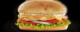 🥪 Sándwich de Pechuga de Pollo con Queso