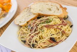 Espaguetti a la Carbonara