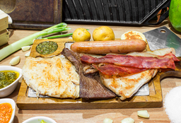 Parrillada bacon tocineta