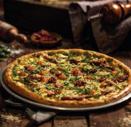Pizza Pesto y Tomate Seco