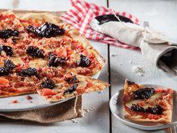 Pizza Ciruela e Tocineta
