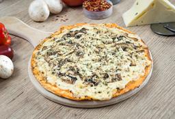 Pizza de Pollo y Champiñones Mediana