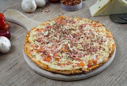 Pizza Pollo Tomate Tocineta Ptt Mediana
