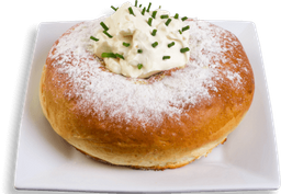 Roscón Salmón y Sour Cream