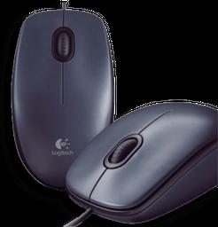 Mouse Logitech Alambrico USB ref. M90