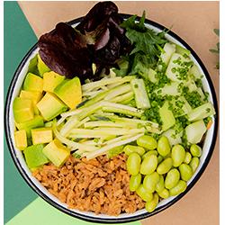 Arma Tu Bowl Vegetariano