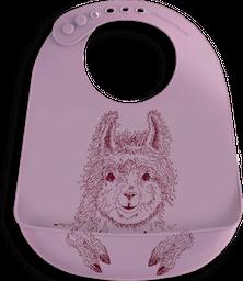 Babero Llama Roja