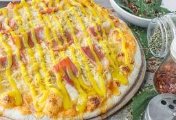 Pizza Pollo Miel Mostaza