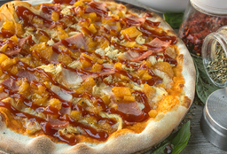 Pizza Hawaiana Pollo BBQ