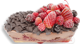 Torta de helado selva negra