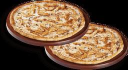 2 Pizzas Grandes 1 Ingrediente