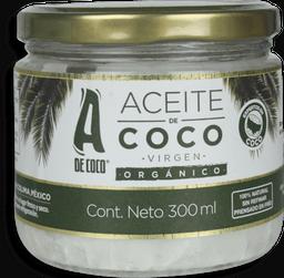 Aceite De Coco Organico 300 Ml Extravirgen Cocolmex