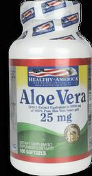 Aloe Vera 25 Mg 100 Softgels 2