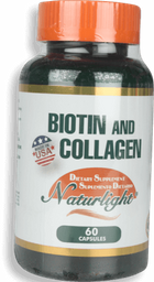 Biotin Plus Collagen 60 Ea
