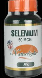 Selenium 50Mcg 100Ea Unidad