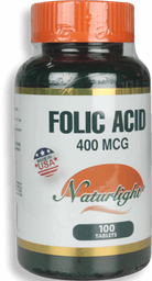 Folic Acid 100Ea Unidad