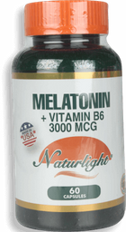 Melatonin 3Mg W/B6 60Ea Unidad