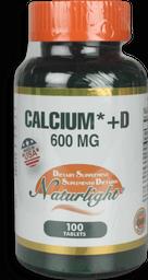 Calcium 600 + D 100Ea Unidad
