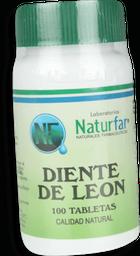 Diente De Leon 100 Tabletas