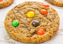Galleta de m&m´s