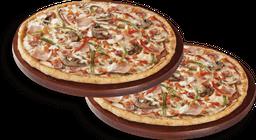 2 Pizzas Grandes Favoritas