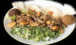 Shawarma en Plato