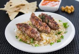 Pinchos de Kafta o Kebab